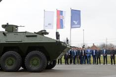 The new armoured vehicles for the Serbian Armed Forces and the Police