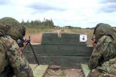 Pripadnici Kopnene vojske na vežbi u Rusiji
