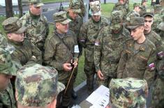 Припадници Копнене војске на вежби у Русији