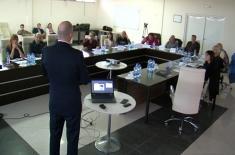 Медијски тренинг за руководиоце ВМА