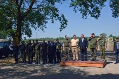 """Dan visokih zvanica na Zajedničkom gađanju ciljeva u vazdušnom prostoru """"Šabla 2019"""""""