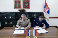 Потврда интензивне сарадње у области одбране са Руском Федерацијом
