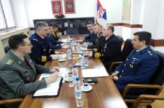 Regular bilateral defence consultations with Turkey