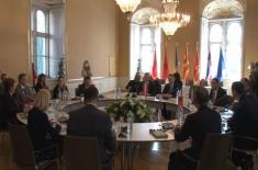 Ministar Vulin: EU da podrži hrabre  napore predsednika Vučića