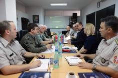 Exchange of experience with Belarus in the field of defence financing