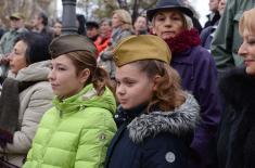 "Откривена спомен-плоча руском ансамблу ""Александров"""