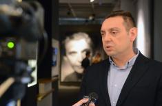 """Министар Вулин: Изложба """"Дијанина деца"""" ће наставити да живи"""