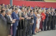 Председник Вучић: Не постоји ништа прече од јединства нашег народа
