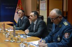 Meeting of the Minister of Defence with the Minister of Tourism of Greece