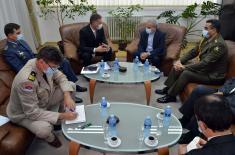 Sastanak pomoćnika za politiku odbrane sa ambasadorom Irana