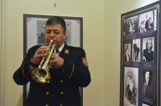 "Opening of Exhibition Dedicated to Jubilee of the Artistic Ensemble ""Stanislav Binički"""