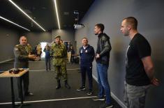 Ревијална утакмица некадашњих репрезентативаца и припадника Министарства одбране и Војске Србије