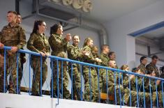 Exhibition match of former national team players and members of the Ministry of Defense and the Serbian Armed Forces