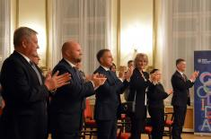 """Заједнички концерт Ансамбла """"Станислав Бинички"""" и Војног оркестра из Словачке"""