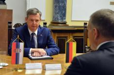 Састанак министра Стефановића са немачким секретаром Зилберхорном