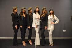 Најлепше девојке Србије у посети Војној академији