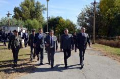 """Razvoj saradnje Ministarstva odbrane i """"Transnafte"""""""