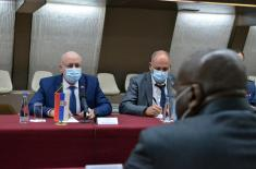Conclusion of the Fifth Session of Joint Serbia-Angola Committee for Cooperation in the Field of Defence