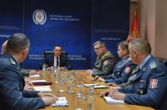 Састанак министра одбране са будућим изасланицима одбране