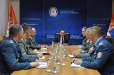 Defence Minister meets with future defence attachés