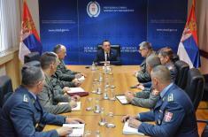 Sastanak ministra odbrane sa budućim izaslanicima odbrane