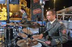 Concert of cadets of the Military Academy at Republic Square
