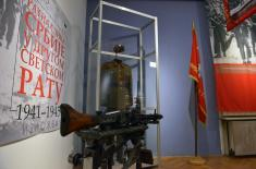 "Exhibition ""War Image of Serbia in the Second World War, 1941-1945"" in Central Military Club as part of cultural event ""Top-Notch Museums"""
