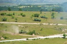"""4th Army Brigade Exercise on the Training Area """"Borovac"""""""
