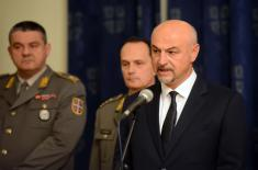 Годишња конференција за медије министра одбране: Грађани знају да могу да се ослоне на Војску