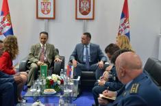Sastanak ministra Vulina sa delegacijom Kraljevine Saudijske Arabije