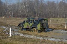 Завршена обука у управљању теренским возилима
