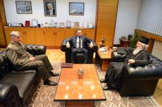 Састанак министра Вулина и епископа шумадијског и војног Јована