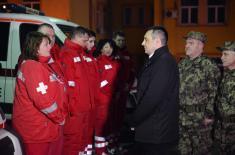 Министар Вулин обишао ВМЦ Хитна помоћ