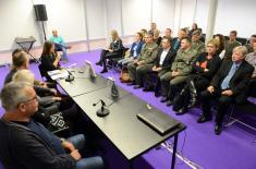 """Министар Вулин на промоцији књиге """"Срби, амерички ратни хероји"""""""