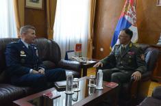 Разговор генерала Мојсиловића и Волтерса у Генералштабу Војске Србије