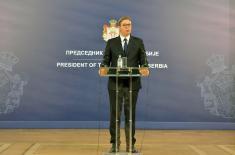 Председник Вучић: Оставка Харадинаја - политички трик