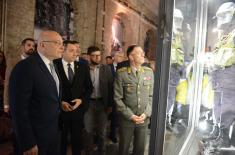 """Opening of Exhibition """"Defence 78"""" Dedicated to Defence against NATO Aggression"""