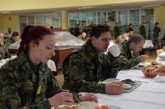 Милош Биковић посетио Војну академију: Кадети су понос Србије