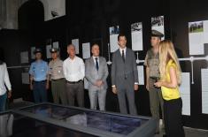 """Представници Канцеларије за Косово и Метохију на изложби """"Одбрана 78"""""""