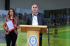 "Opening of ""Serbian Armed Forces Cup - Karađorđevo 2019"""