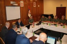 Joint Session of the Collegiums of the Minister of Defense and the Chief of General Staff of the Serbian Armed Forces