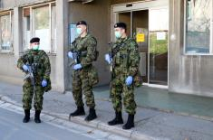 The engagement of the Serbian Armed Forces in the state of emergency