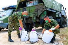 Војска Србије формирала пољску болницу у Новом Пазару