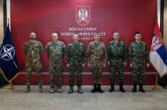 Sastanak sa komandantom Kfora u Beogradu