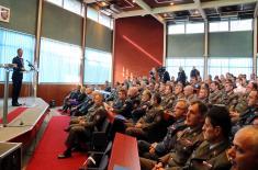 Предавање министра Стефановића у Школи националне одбране