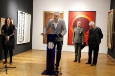 """Отворена изложба """"Српско сликарство XX века (1950–2000) – избор из приватних збирки"""""""