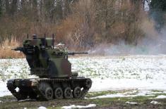 Министар Вулин: Обука у Војсци Србије не одлаже се због ванредног стања и додатних задатака