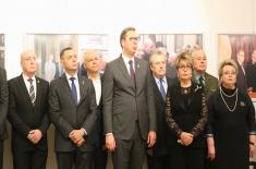 Revealing of the Bust of Yevgeny Maksimovich Primakov – a Great Citizen of Russia and Friend of Serbia