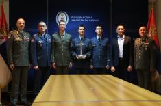 Министар Вулин: Комплимент држави и војсци је да три рођена брата постану официри