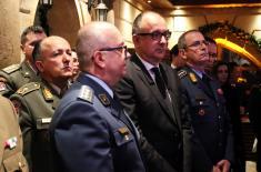 Министар Вулин на пријему поводом предаје дужности НАТО контакт амбасаде